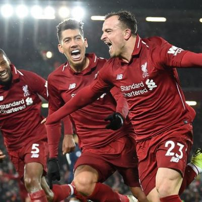 Liverpool's victory hailed as the `Miracle of Anfield'