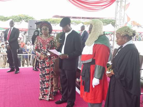 Ortom Sworn In For Second Tenure, Vows To Oppose Aggression Against Benue