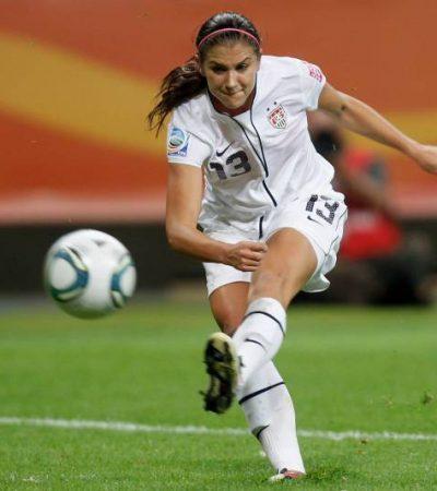 Morgan scores 5 as U.S. lash Thailand with record 13-0 win