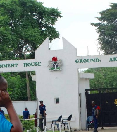 Protesting Ondo youths paralyse activities at Governor's Office