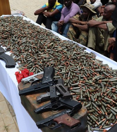 Police Operatives Dismantle International Arms-Smuggling Syndicate