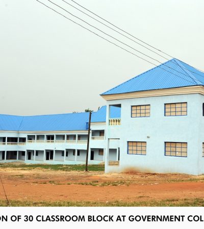 Gov Orji Approves 20% Across Board Reduction in School Fees of Students of Abia State University (ABSU)
