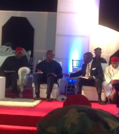 Jonathan Finally Performed Ground-Breaking Ceremony On 2nd Niger Bridge