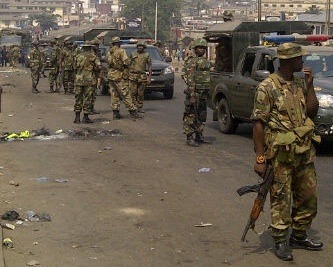 Soldiers Invade Imo State Government House
