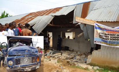 Car Fails Brake, Kill 7 School Children, 10 Seriously Injured