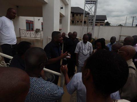 Dr. Chima Chukwu addressing the media