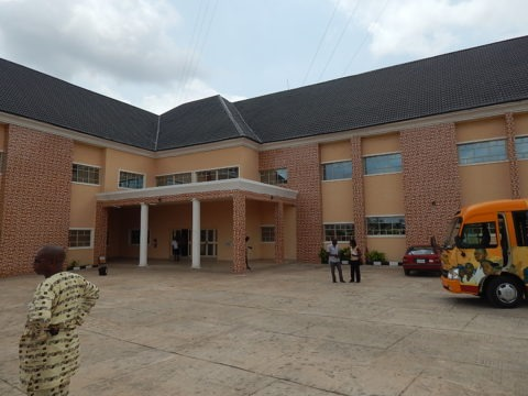 The New Building Complex at the Abia Broadcasting Station