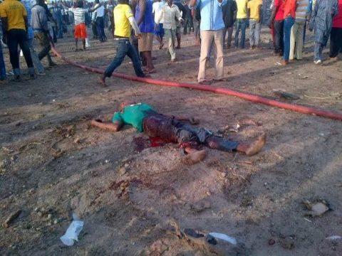 Nyanya Bomb Blast Leaves Abuja Cold