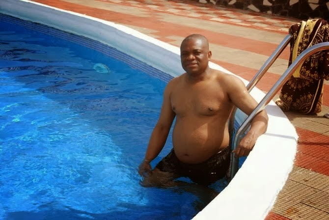 Orji Uzor Kalu enjoying the riches earned from the collective treasury of Abia State