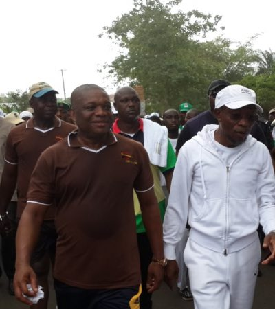 Orji Uzor Kalu Campaigns Against PDP in South West