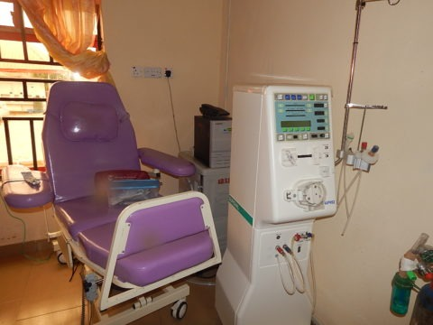 One of the dialysis unit at the Diagnostic Center in Abia State