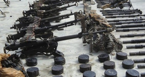 Cache of Arms Recovered in Anambra… Arrest 3 for Gunrunning, Kidnapping