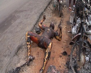 Another Suspected Kidnapper Burnt In Ilorin