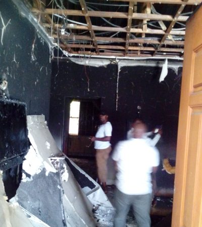 Ohakim, wife escape assassination, As Explosion rocks his house in Owerri