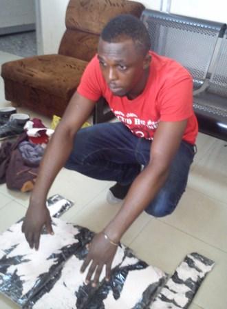 gwacham emmanuel orakwe with the drugs