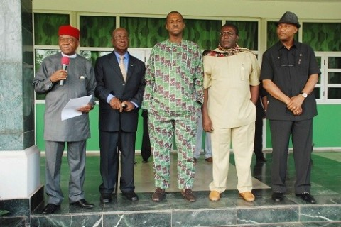 S/East Governors Urges Fed Govt To Intensify Search Of Abducted School Girls In Chibok