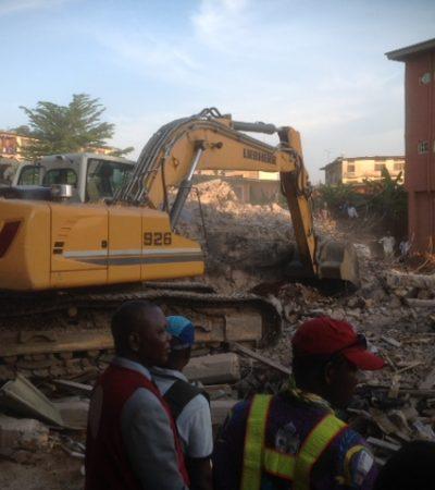 Four die as school building collapses in Onitsha
