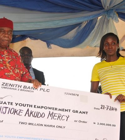 PhotoNews: Gov. Orji 2014 Youth Empowerment Programme