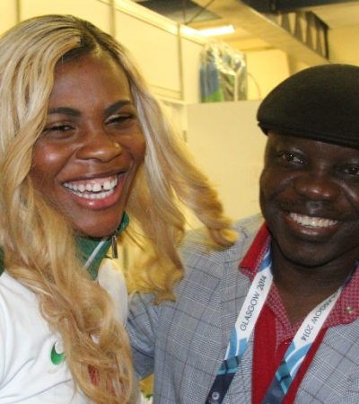 PhotoNews: Blessing Okagbare Dedicates Her Victory To Gov Emmanuel Uduaghan