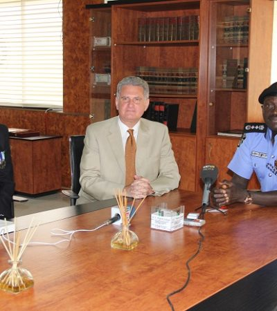 British High Commissioner Meets IGP: Seeks Strengthening Of Ties Between Britain And Nigeria Police Force