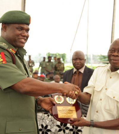 Nigeria will defeat terrorists, say Oshiomhole, Army Chief