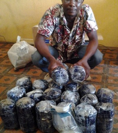 Drug Trafficking: Suspect Conceals N322 Million Naira Worth Of Drugs In Oil Filters