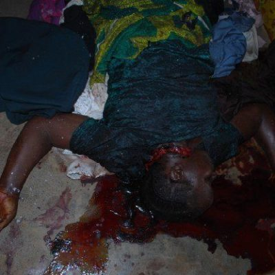 PhotoNews: Sanga attack where Soldier, Pastor, Four pregnant women were killed
