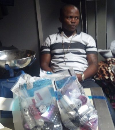 NDLEA Arrests Two [Abia & Anambra] Traffickers With 13.33kg Of Cocaine In Capacitors And Perfumes At Abuja Airport