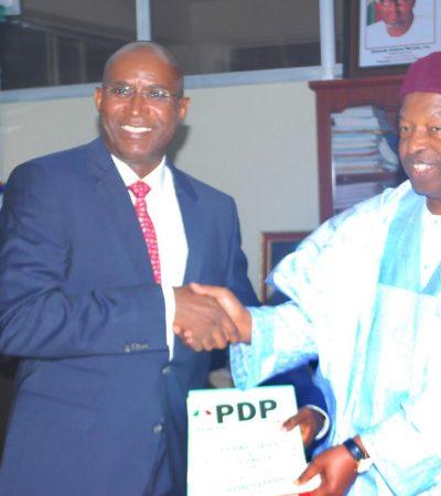 Omo Agege Picks Form, Declares for Delta Governor