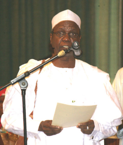 Alh. Yayale, former SGF