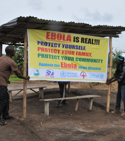 Ebola treatment centers in Liberia nearly empty