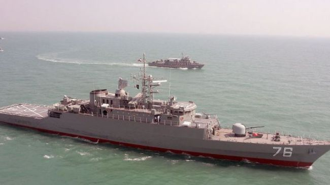 Iran to unveil missile-launching destroyer: Cmdr.