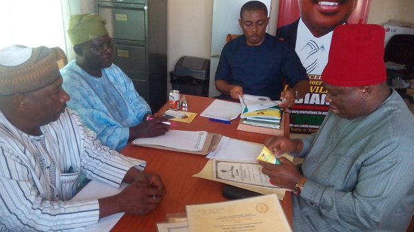 Umeh 's Senatorial Ambition on Course….. Cleared By APGA 3 Man Screening Panel
