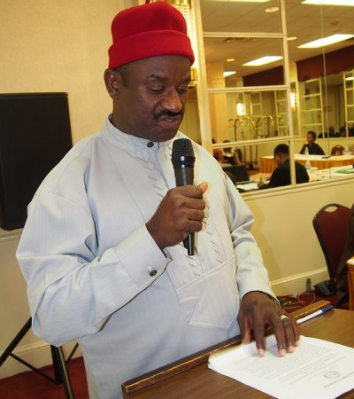 World Igbo Congress Chairman Tasks Igbo Governors To Sit Up