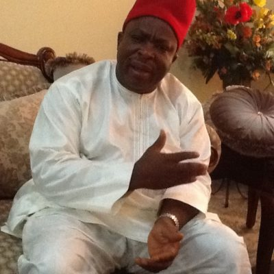 APGA'S Umeh Berates Danjuma, Others over Comments on Ojukwu, Ndigbo