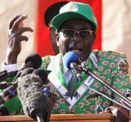 President Mugabe visits New York City