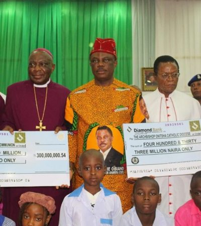 Obiano Boosts Mission Schools in Anambra with N1.9bn