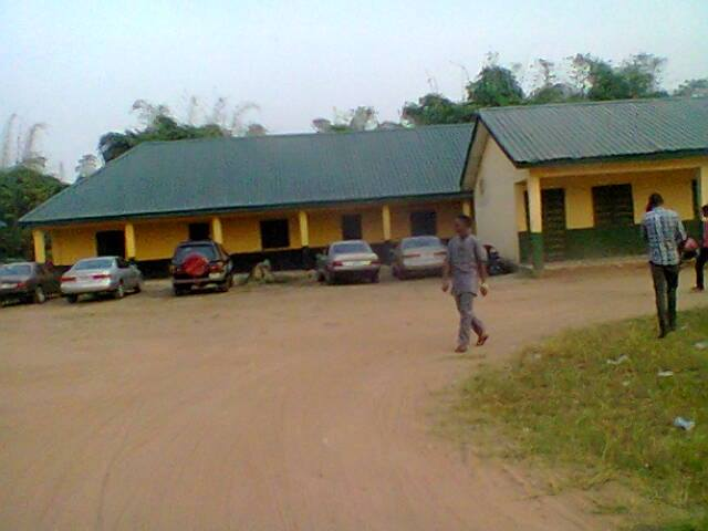 Newly Renovated blocks at Umuocham Primary School