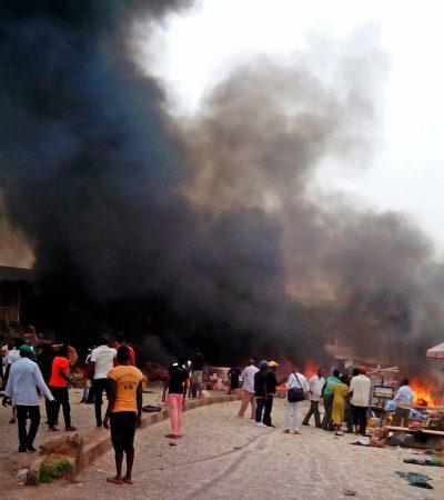 Maiduguri Attack: 500 Boko Haram Killed, 15 Civilian Injured, Explosion In Potiskum 8 Killed