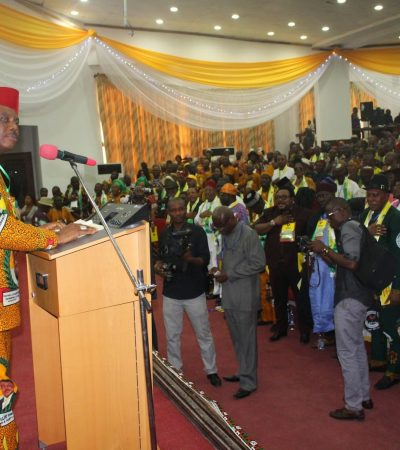 Full Text of Obiano's Speech at the APGA Special National Convention