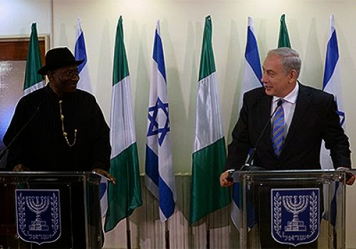 Press Release: Why Natanyahu Hailed Jonathan!