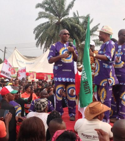 Chris Uba's PDP Targets 100% Landslide Victory, Commences Tour Of Anambra Central