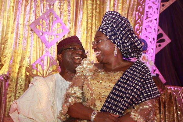 Group Condemns Fayemi's Wife Diversion of N57.34m Ekiti Drugs To Buhari's Campaign