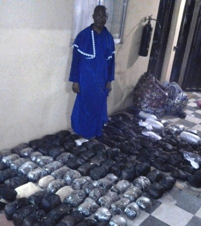 NDLEA Arrests Pastor With 174kg Of Narcotics