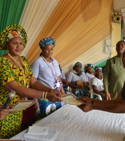 63 Graduate in Vocational Training Sponsored by Mrs. Obiano
