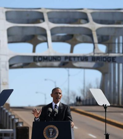 Transcript: Obama's speech at Selma marking 'Bloody Sunday' anniversary