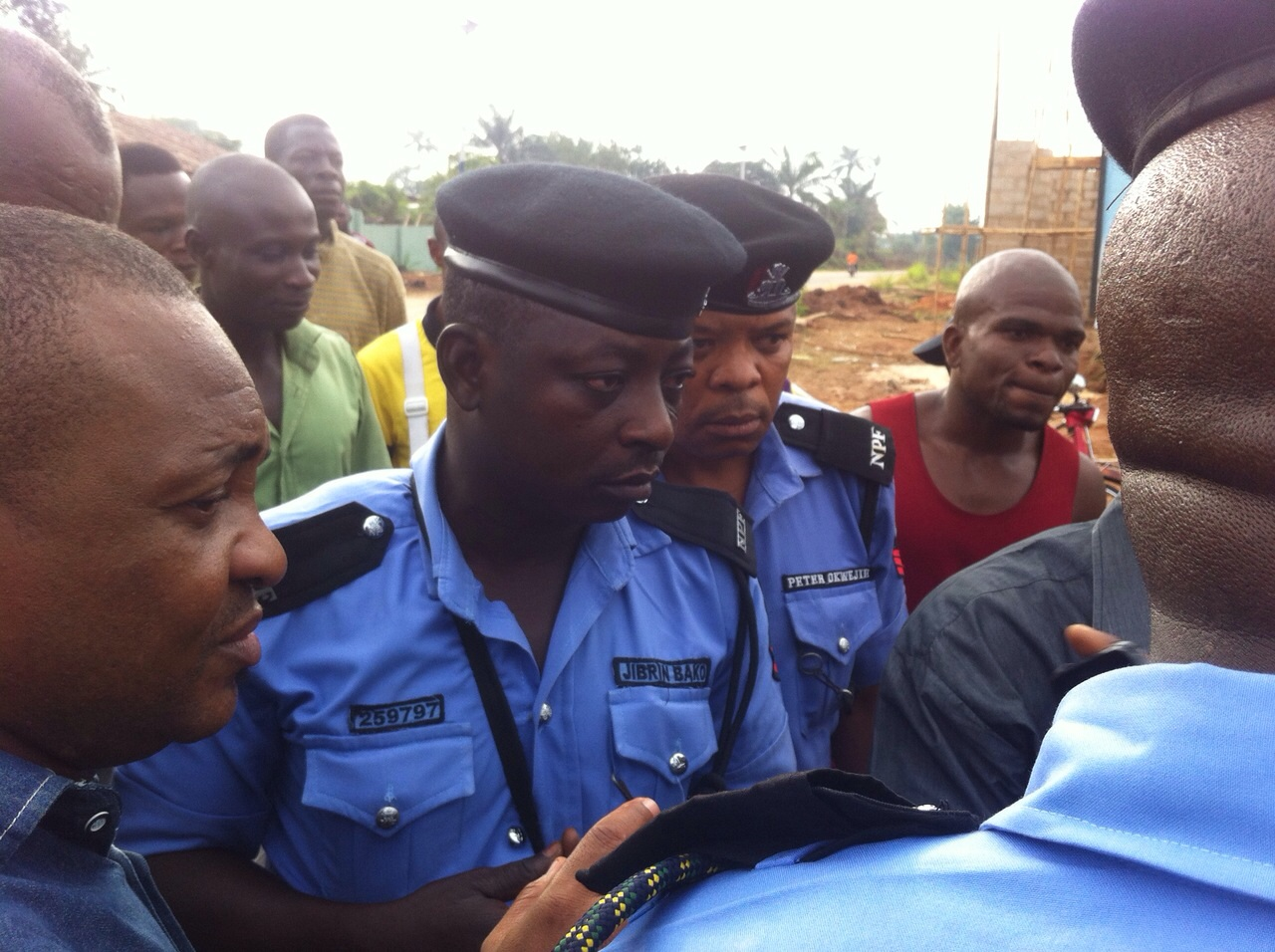 Faces of fake police men arranged by Okorocha's in law caught by soldiers