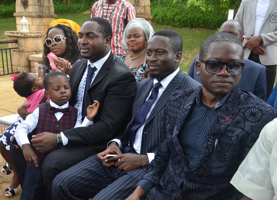 Children and grandchildren of Governor Adams Oshiomhole