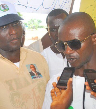 Delta Youths Protest Litigation against Okowa's Guber Victory