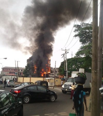 Mother, 3 Kids Escape Death, As Mysterious Fire Guts Car In Imo